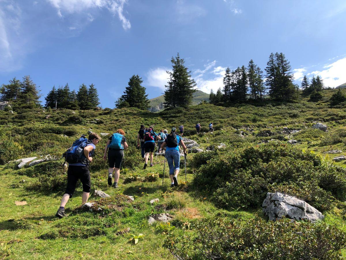 Wanderung Alp Selun - Amden